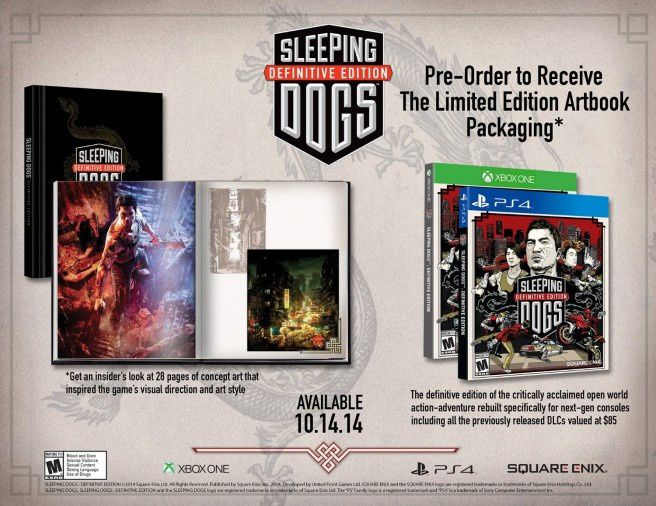Une date pour Sleeping Dogs pour PS4 & One