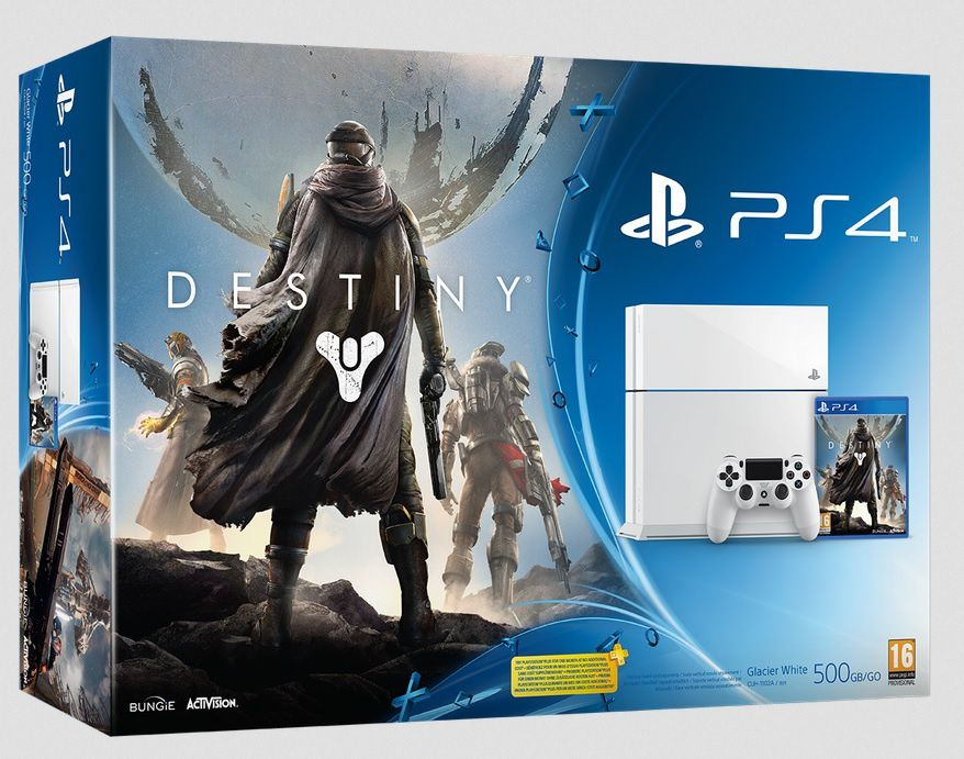 Date : PlayStation 4 Blanche