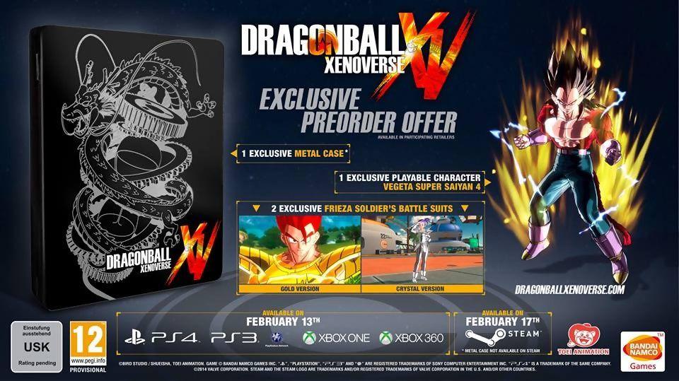 Dragon Ball Xenoverse : daté pour l'europe !
