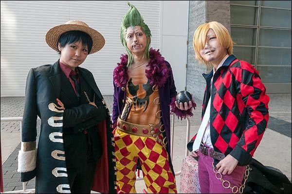 Cosplay One Piece Partie 1