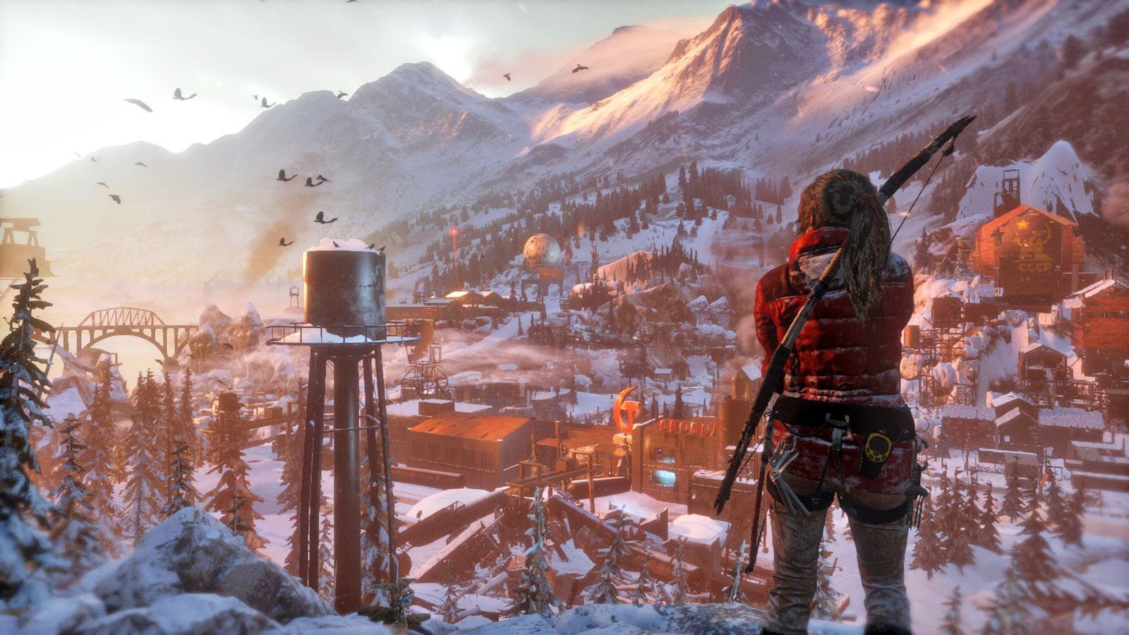 RISE OF THE TOMB RAIDER : IMAGES HD