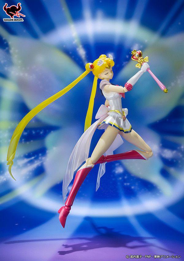 Super Sailor Moon arrive en Figurine S.H. Figuarts