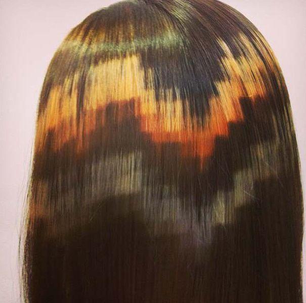 Le pixel-art s'invite dans le monde la coiffure !