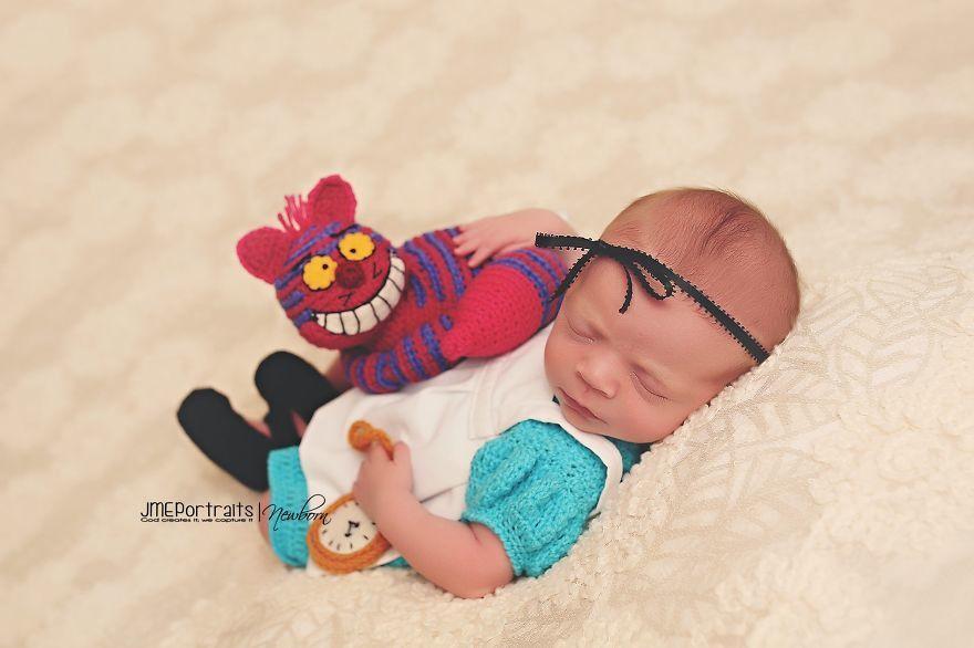 Photo shoot de bébé en mode geekerie !