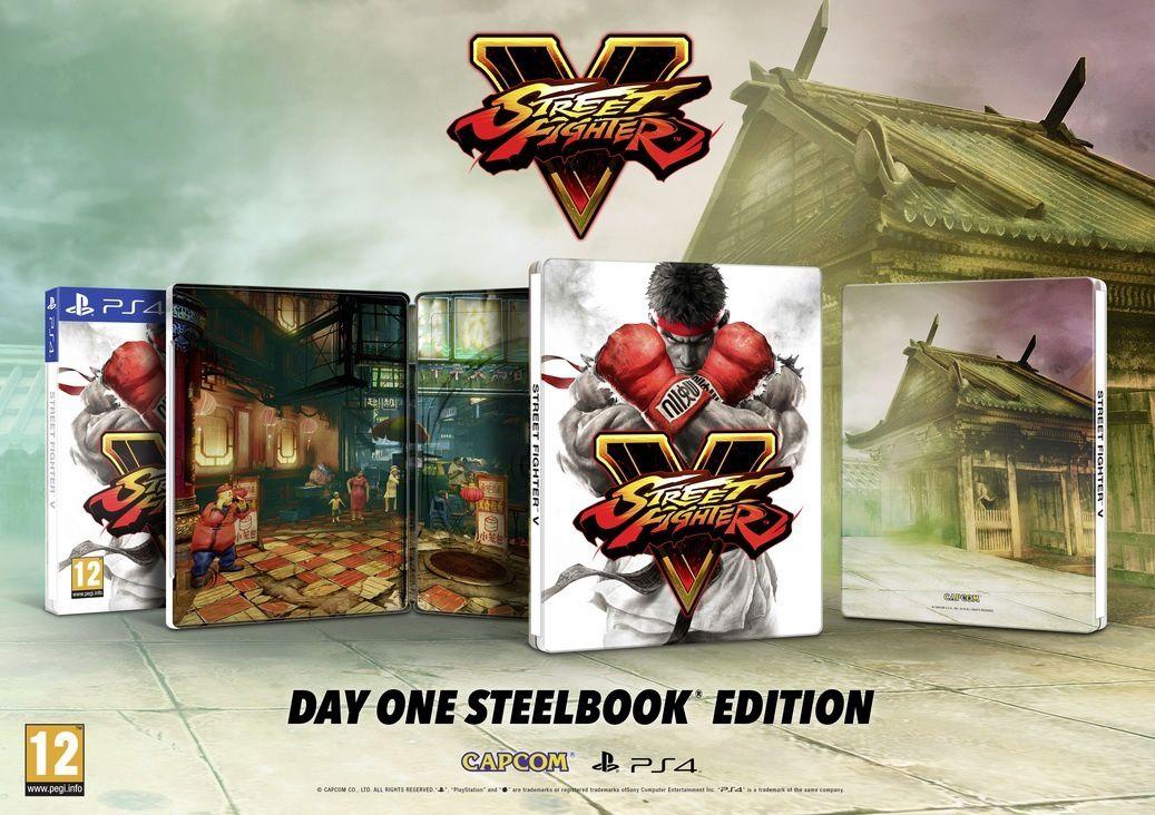L'Edition Day One de Street Fighter V