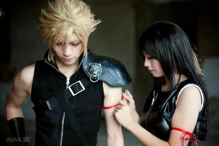#cosplay thème : Cloud Strife