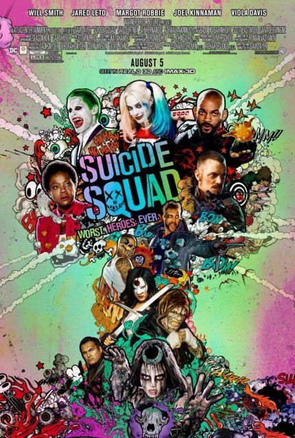 Suicide Squad : Nouvelle affiche + Soundtrack