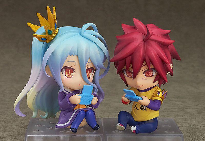 Nedoroid de Sora et Shiro de NO game No Life en préco.