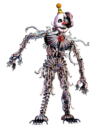 Ennard - Le Clown Tueur - Animatronic Ultime