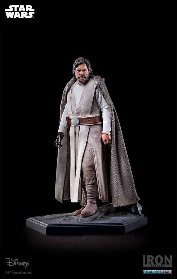 Luke Skywalker se décline en figurine chez Iron Studios