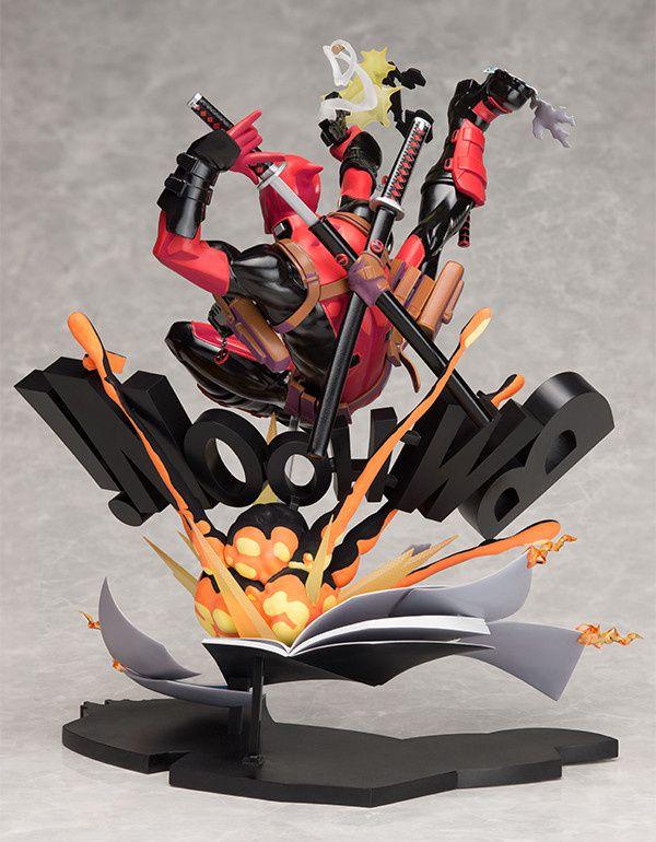Deadpoolse décline en figurine avec Deadpool Breaking the Fourth Wall