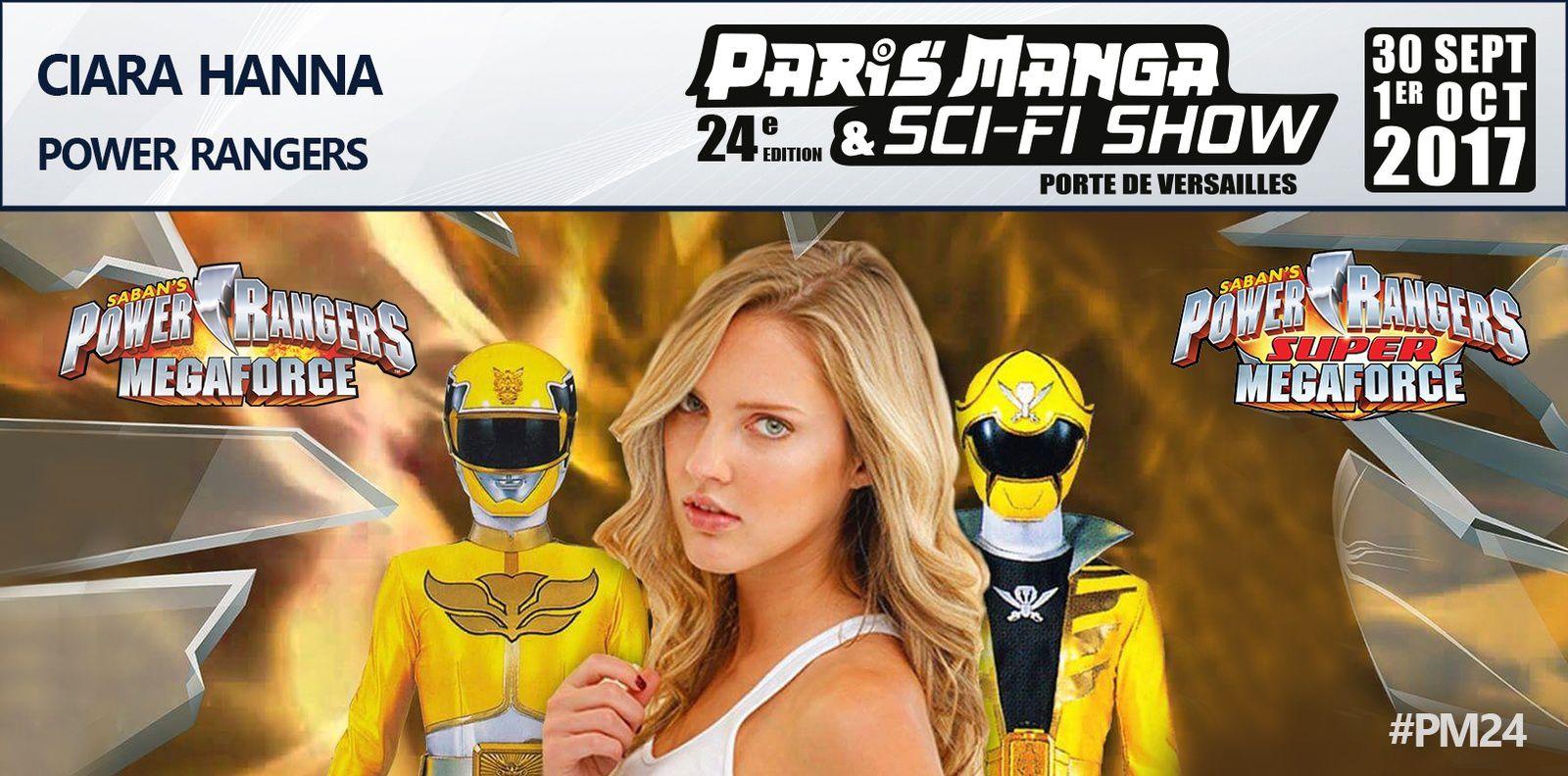 Les Power Rangers au PARIS MANGA &amp&#x3B; SCI-FI SHOW 24