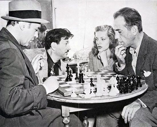 La photo du dimanche-Bogart,Boyer, Bacall
