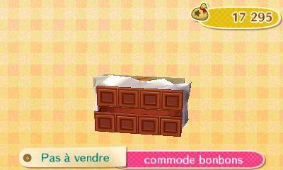 La collection Bonbons