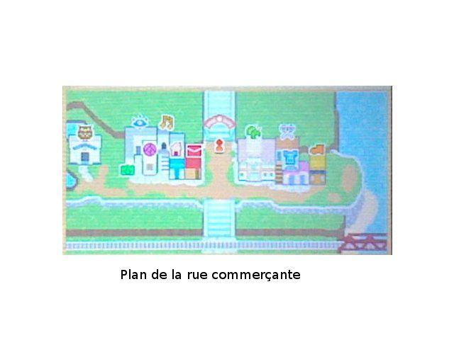 Photo 1 (plan de la rue commerçante).