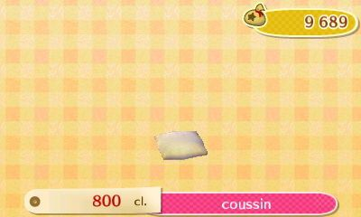 Les Meubles 3 Animal Crossing New Leaf
