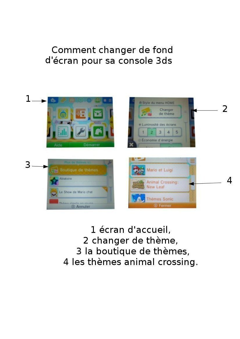 Les fonds d'écrans animal crossing :