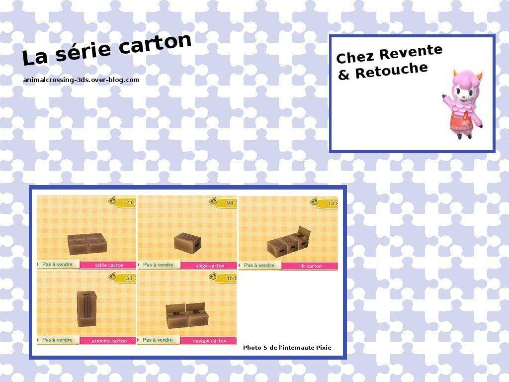 La série carton (thème : Décalé) :