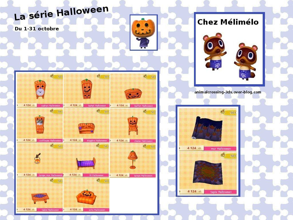 Les S Ries Halloween Animal Crossing New Leaf