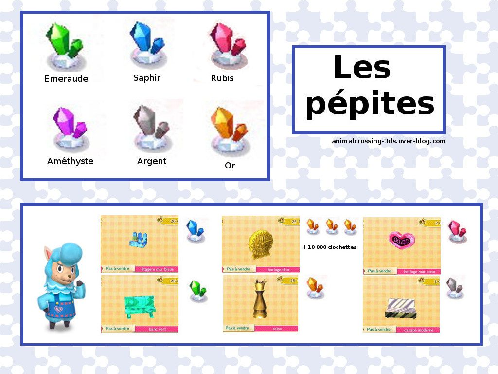 Les P Pites Animal Crossing New Leaf