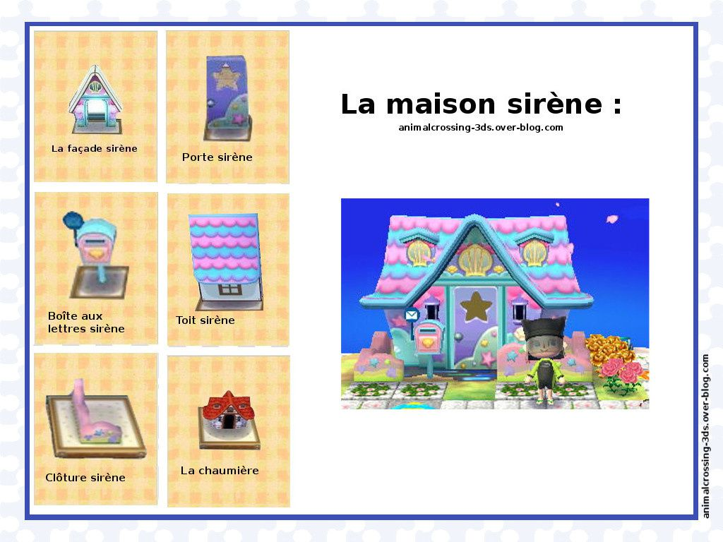 La maison animal crossing new leaf for Articles pour la maison