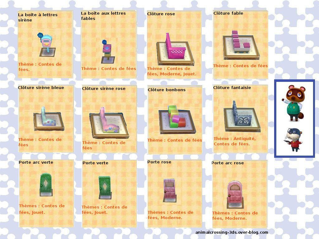 Le Theme Contes De Fees Ajd Animal Crossing New Leaf