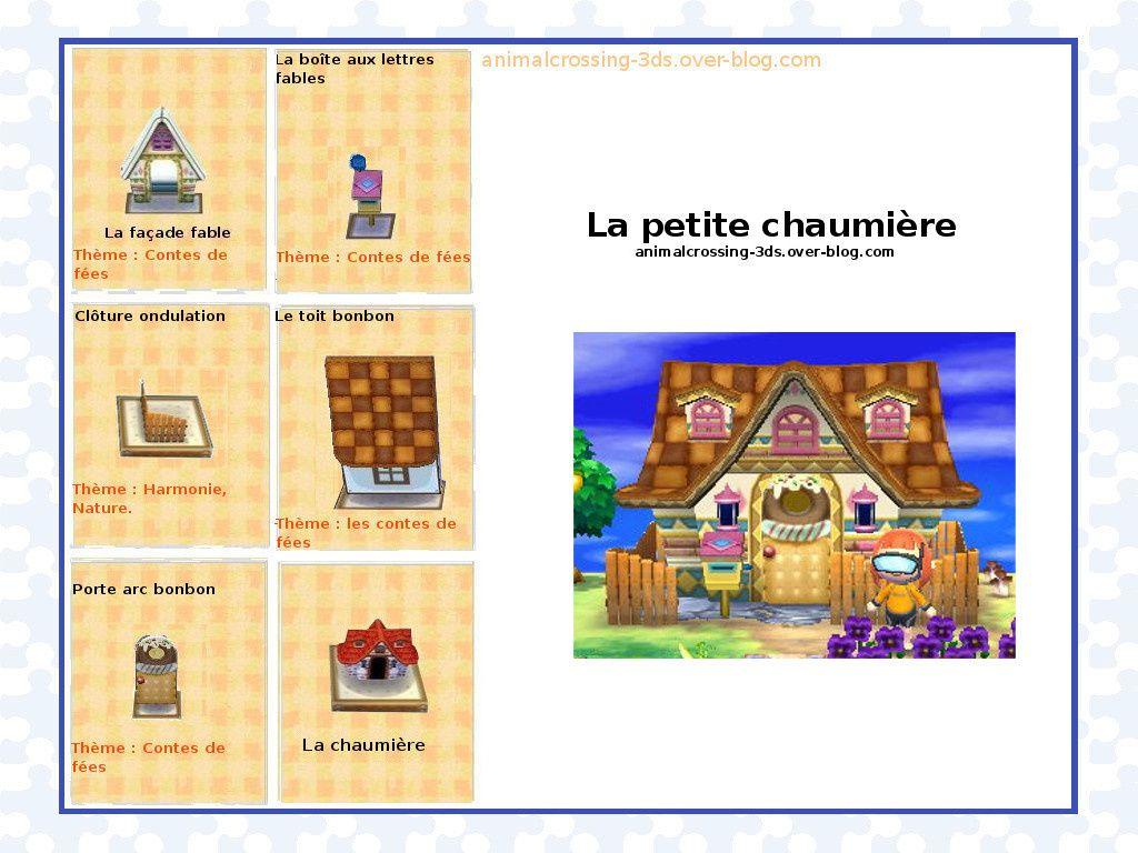 Les maisons (exemples de décorations finales). :