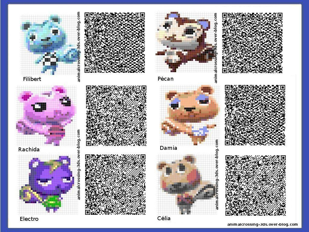 Qr code animal crossing new leaf nf06 regardsdefemmes for Animal crossing new leaf arredamento