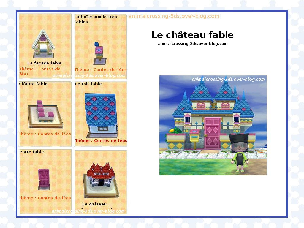 Les maisons exemples de d corations finales animal for Agrandissement maison animal crossing wii