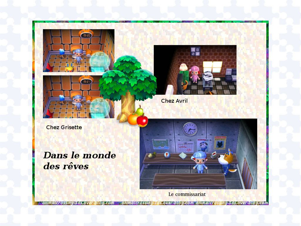 Les horloges dans animal crossing :