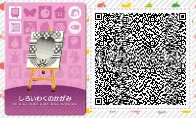 Les qr codes classique 3 animal crossing new leaf for Carrelage kitsch animal crossing new leaf