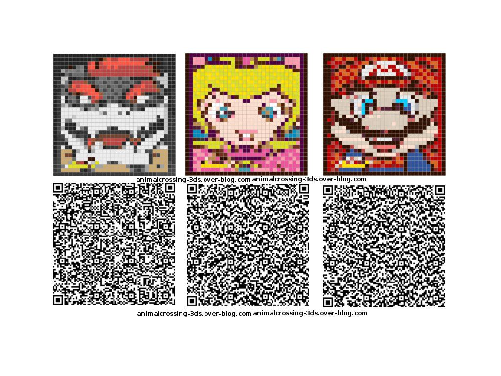 Les Qr Codes Nintendo Animal Crossing New Leaf