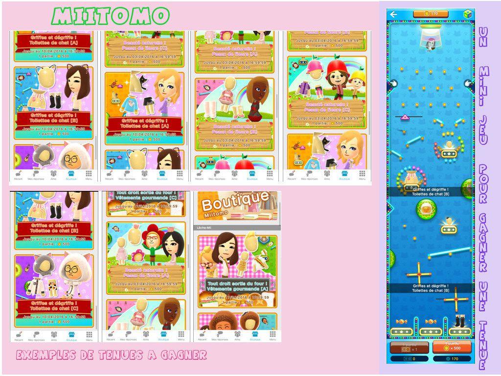 Le monde merveilleux de Miitomo !