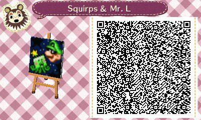 Les qr codes Nintendo  :