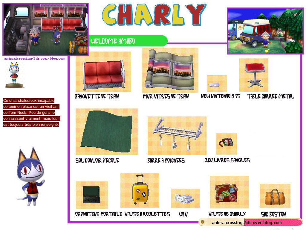 animalcrossing-3ds.over-blog.com Amiibo figurine Charly
