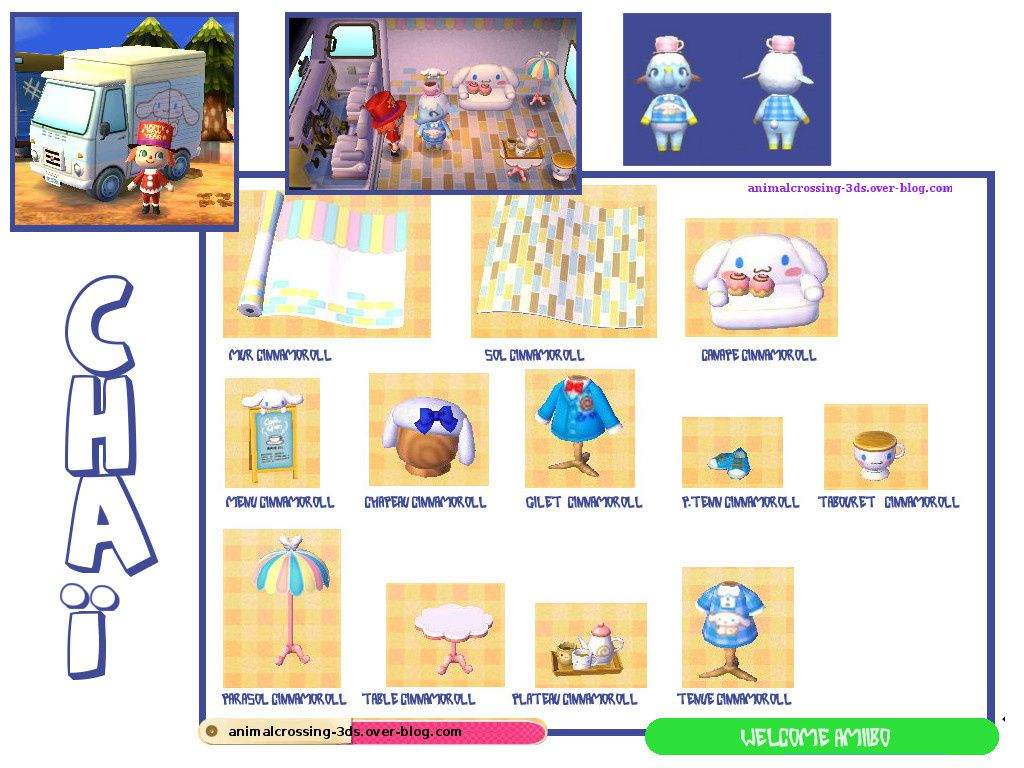 Chaï (carte sanrio 4) animalcrossing-3ds.over-blog.com