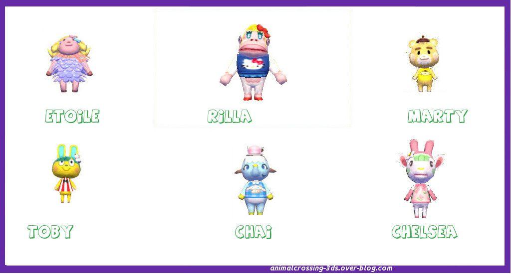 ACNL+MAJ Utilisation de  cartes amiibo /figurines Amiibo :