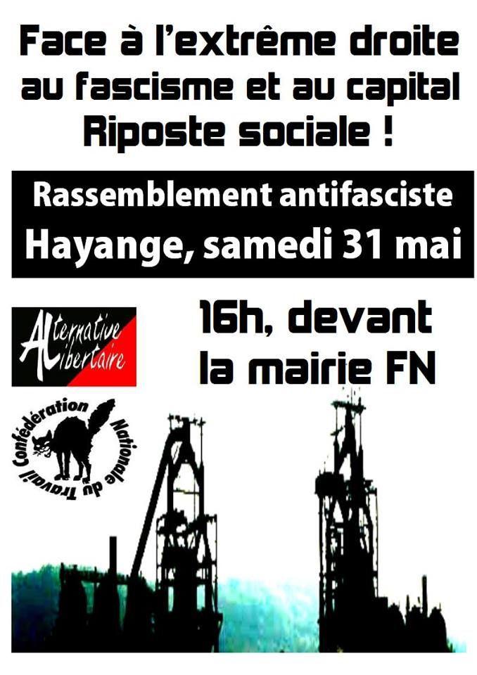 Face à l'extrême droite, au fascisme et au capital : riposte sociale !