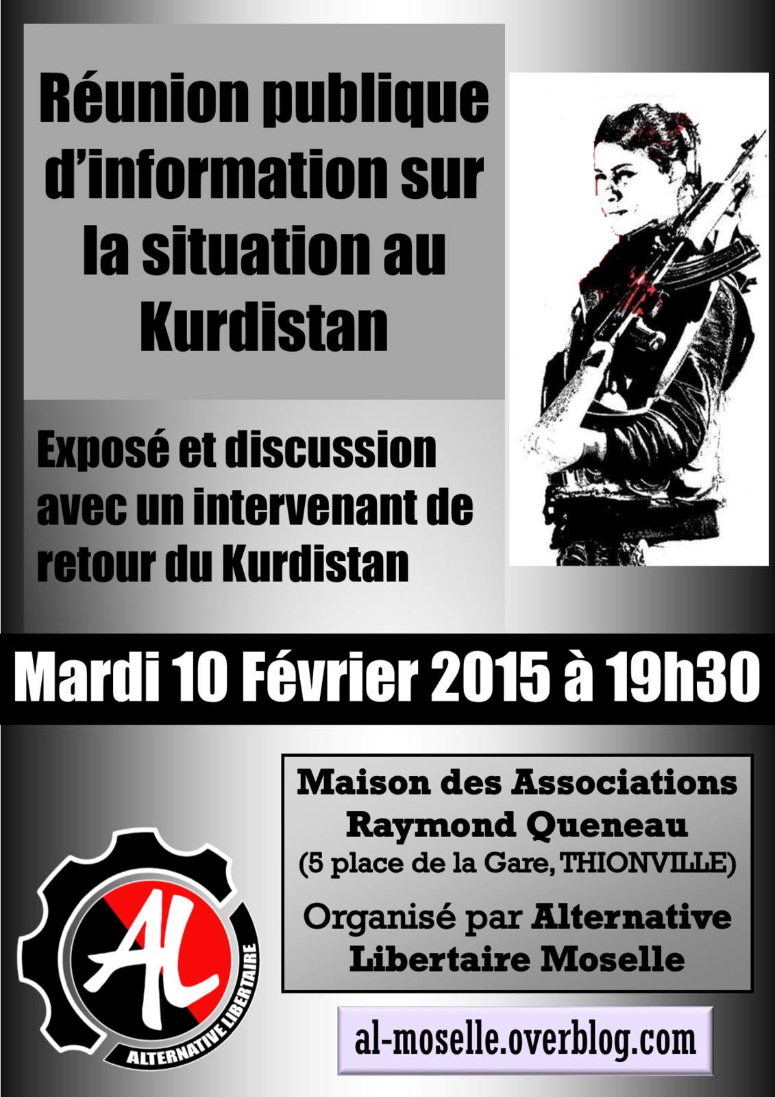 Réunion publique d'information sur la situation au Kurdistan