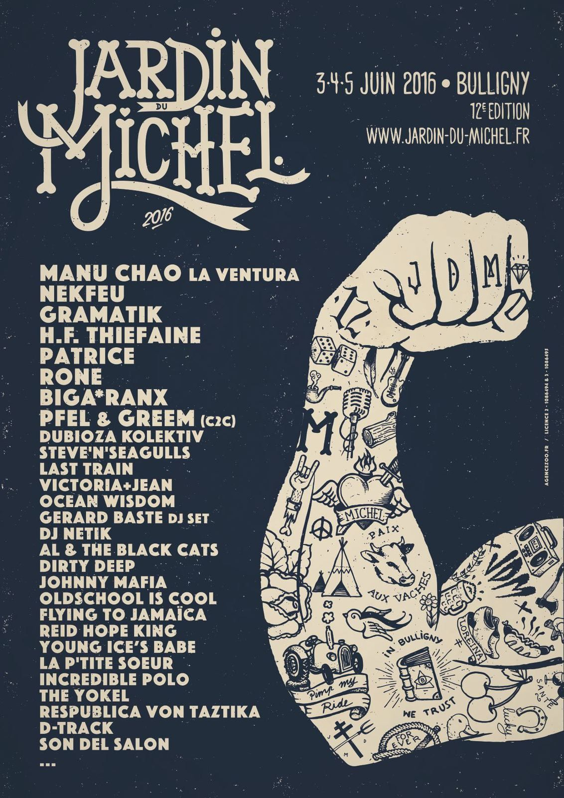 Jardin du michel 2016 kaput brain webzine for Jardin du michel 2016 programmation