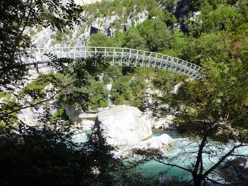 Calanques de Cassis - Gorges du Verdon  19 au 28/09/2014