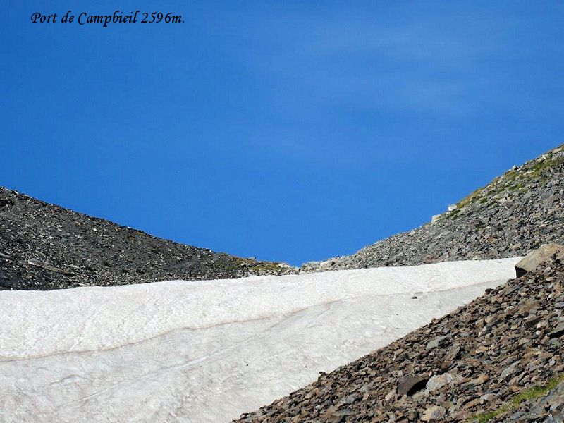 Le Soum des Salettes ou Pic des Aguillous 2976m.