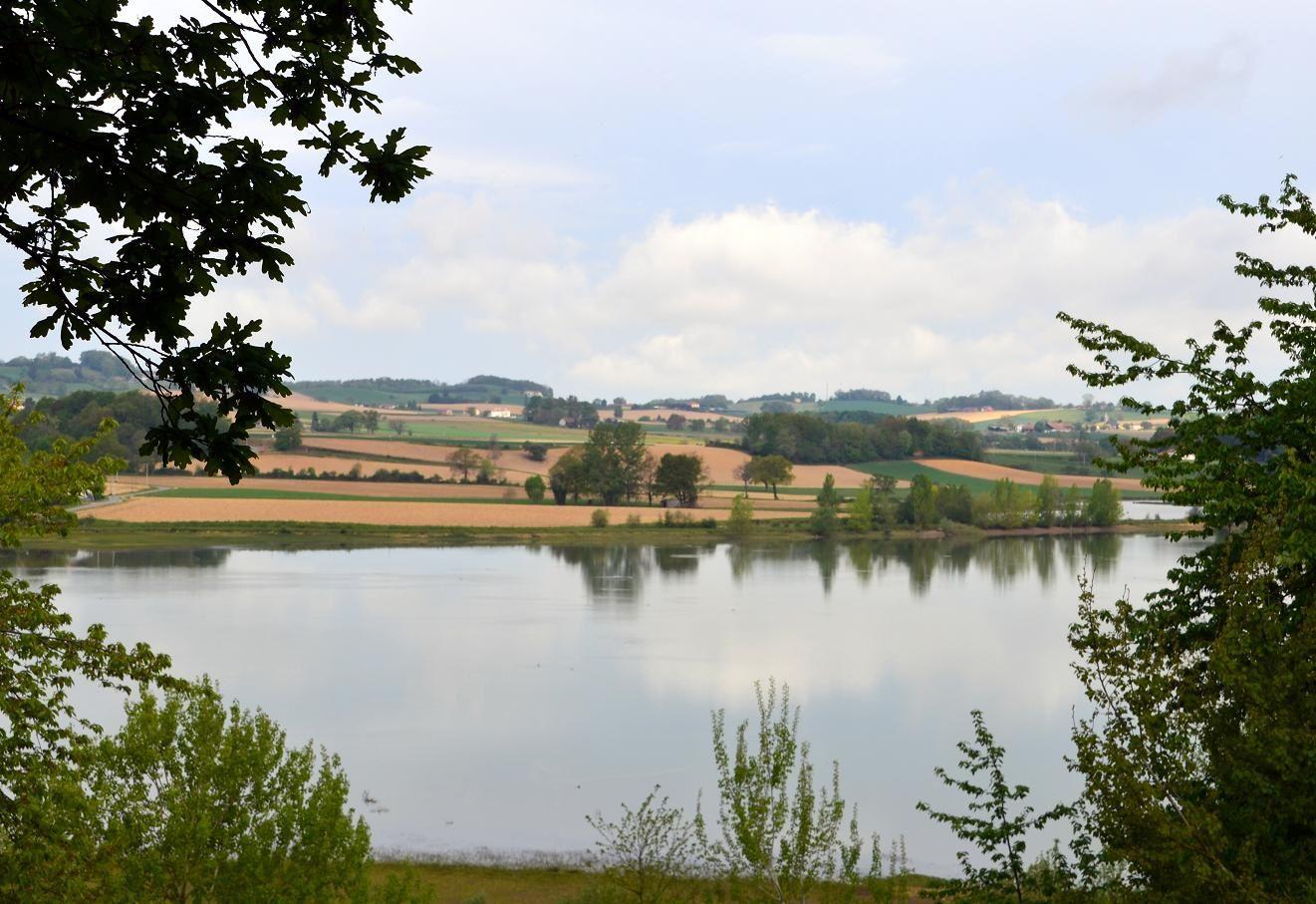 Tour du lac de Puydarrieux