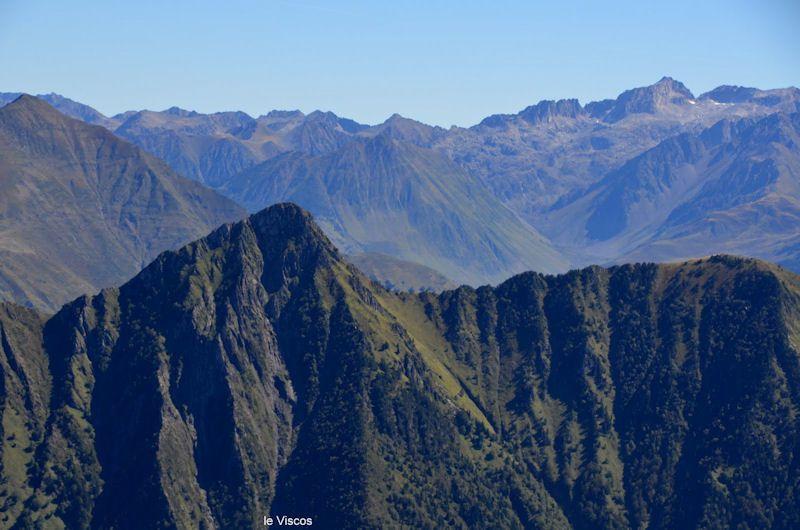Le Pic du Cabaliros 2334m.