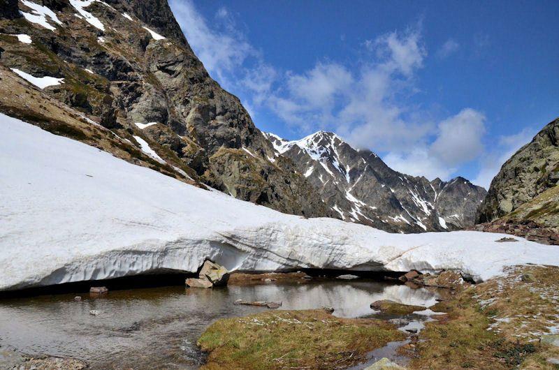 Lac  de  Pouchergues (2111m.)