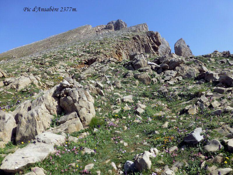 Pic d'Ansabère 2377m.