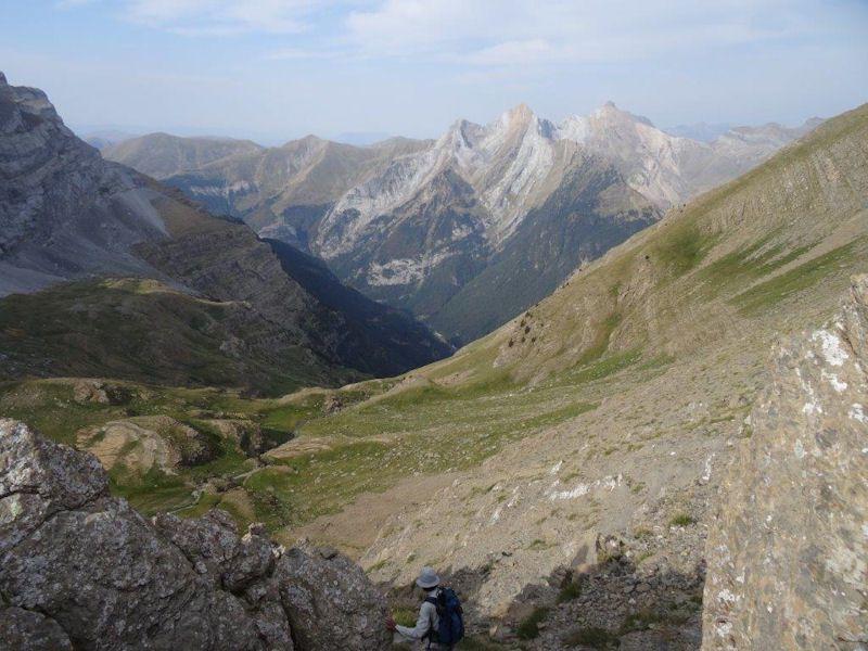 VIRE  DE L'ESCUZANA  2848 m.