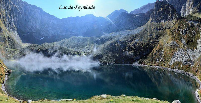 Le lac de Peyrelade 1919m