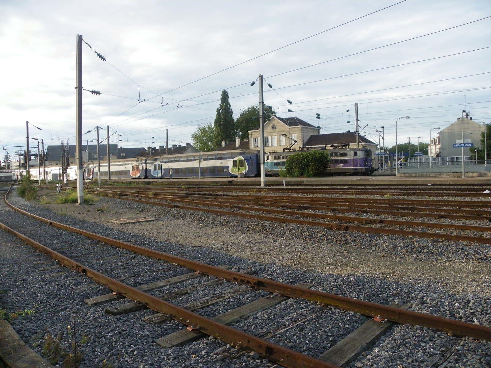 La gare de Crépy en Valois