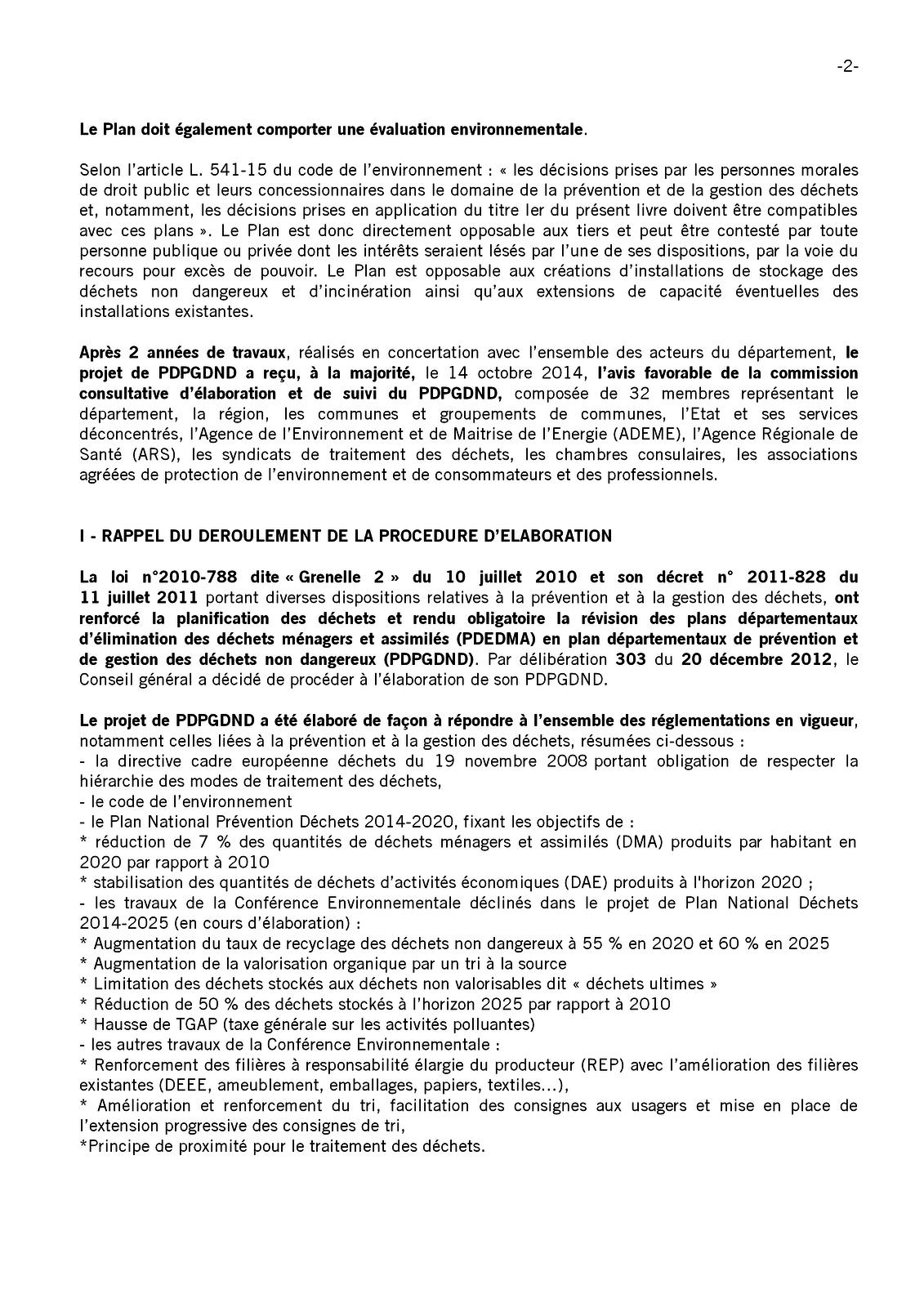 Communauté des communes du pays de Valois : Deux rapports concernant les plans départementaux de prévention et de gestion des déchets de l'Oise